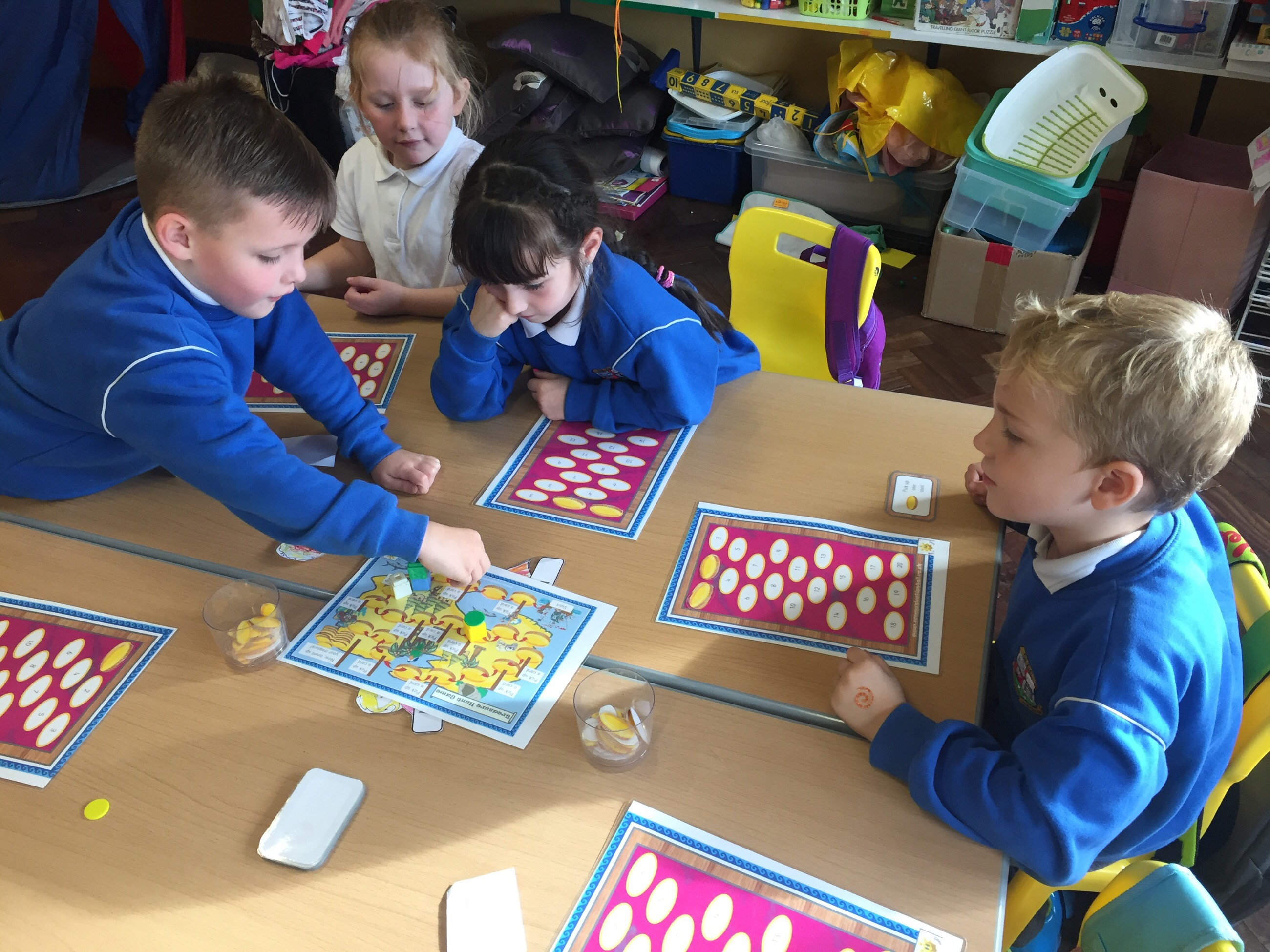Games in senior infants for Maths Week! - Our Lady of ...